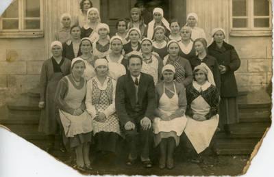 Nežinomas fotografas. Šeimininkių kursai. 1940