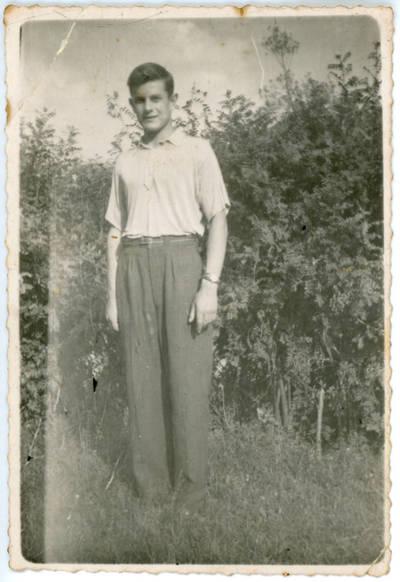 Nežinomas fotografas. Vaikino portretas. 1958-07-16