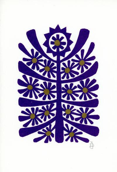 Julija Daniliauskienė. Medžio  motyvas. 2000