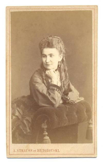 Aleksandras Vladislovas Štrausas. Moters portretas. 1900