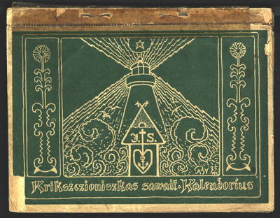 Krikszczioniszkas sawaitinis kalendorius ... metams. 1937. - 1936