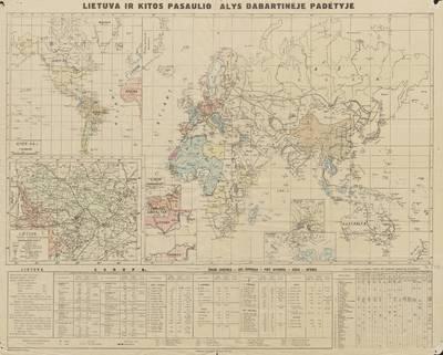 Lietuva ir kitos pasaulio šalys dabartinėje padėtyje