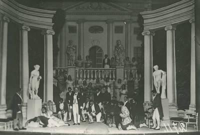 Operos spektaklio nuotrauka. 1929