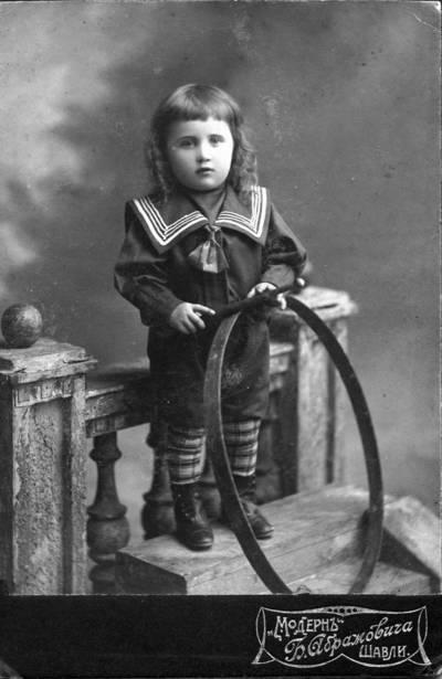 B. Abramovičius. Liudgardo Maculevičiaus brolis Vladas Maculevičius. 1904 m.