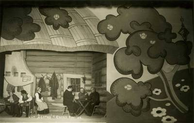Valstybės teatro spektaklio nuotrauka. V. Krėvė-Mickevičius. ŽENTAS