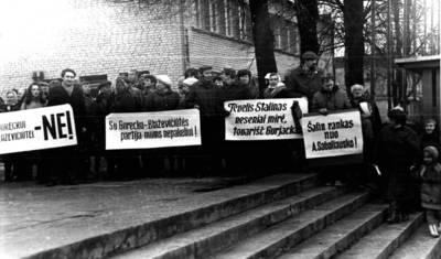 Steponas Antanavičius. Fotografija. 1989