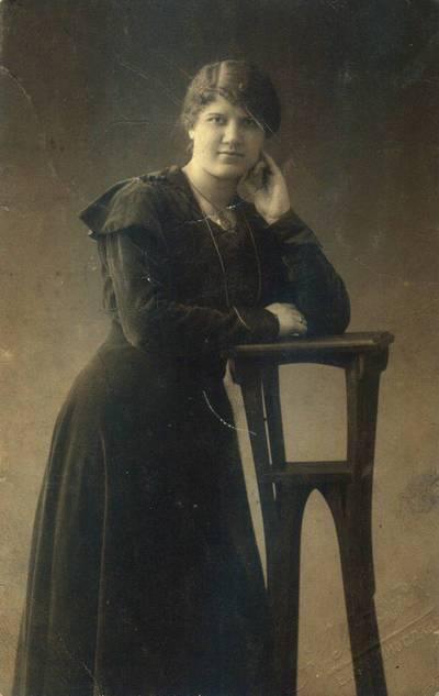 Fotografija.Malvina Valeikienė. 1917