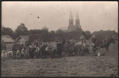 Nežinomas fotografas. Bulviakasis Anykščiuose. 1915