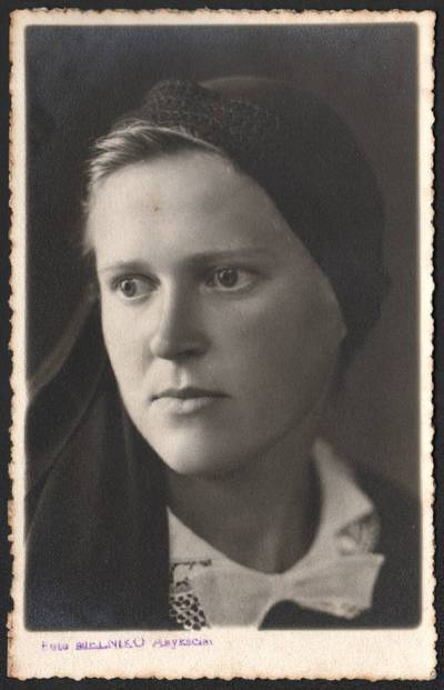 Icikas Melnikas. Ona Šumylaitė. 1936