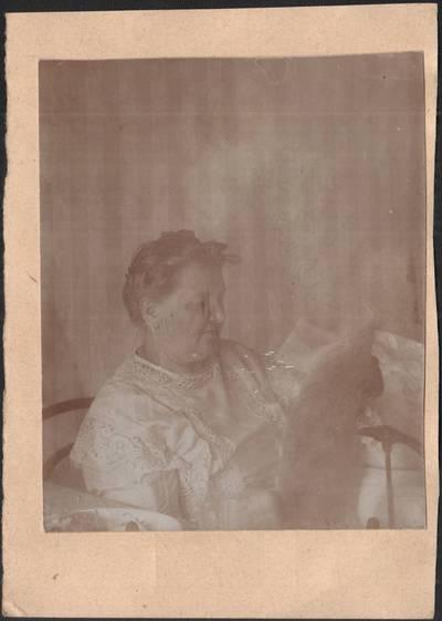 Nežinomas fotografas. Liudvika Didžiulienė-Žmona. 1920