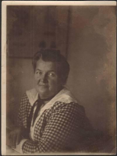Nežinomas fotografas. Liudvika Didžiulienė-Žmona. 1916