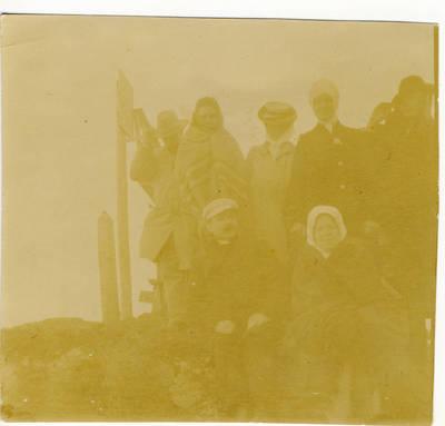 Nežinomas fotografas. A. Vienuolis Kaukazo kalnuose. 1903