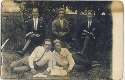 Nežinomas fotografas. Skiemonių krašto jaunimas. 1927-07-17