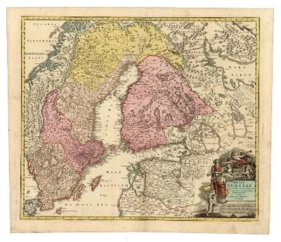 Regni Sueciae ... tabula generalis