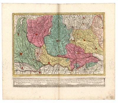 Das Hertzogthum Mantova und Mirandola