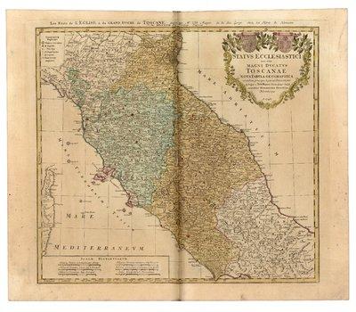 Status Ecclesiastici nec non Magni Ducatus Toscanae