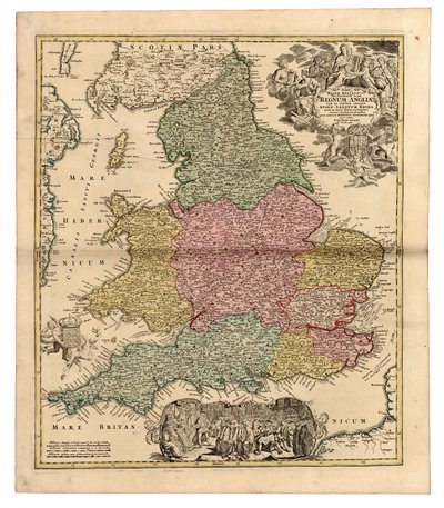 Magnae Britanniae Pars Meridionalis