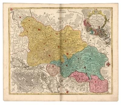 Nova mappa geographica totius Ducatus Silesiae