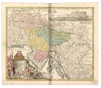 Tabula Ducatus Carnioliae Vindorum Marchiae et Histriae
