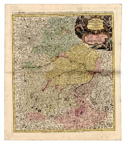 Bavariae Circulus et Electoratus In Suas Quasque Ditiones tam cum Adiacentibus Quam Insertis Regionibus accuratißime divisus ...