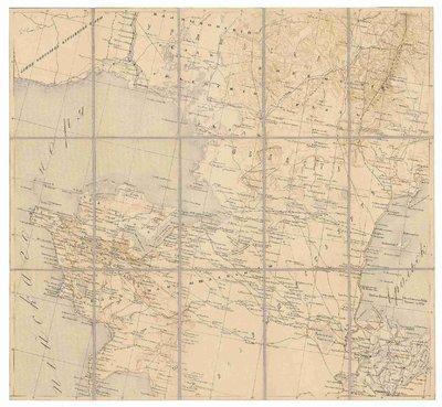 Sorokaverstnoj karty Turkestanskago vojennago okruga i sosědnich vladěnij
