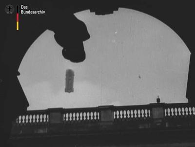 Der 28. August 1909: Unter brausendem Jubel der Berliner Bevölkerung kreuzte der erste Zeppelin über Berlin