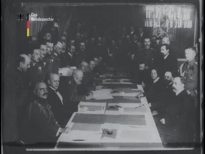 Der Waffenstillstand von Brest-Litowsk