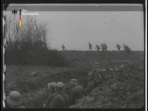 Kampfszenen aus der Schlacht an der Somme