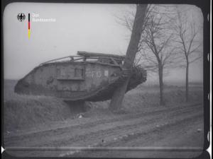 Nach der Tankschlacht bei Cambrai Dezember 1917