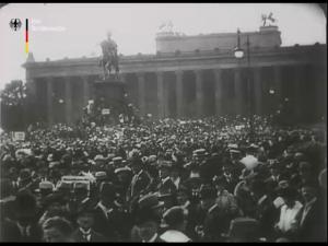 Kriegsverbrecherprozeß vor dem Reichsgericht in Leipzig