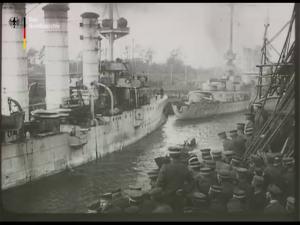 Landung auf Ösel 1917