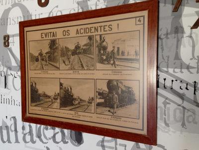 Quadro de informação: Evitai os acidentes! 4