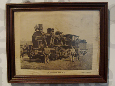 Fotografia: A Locomotiva 1165 S.S.