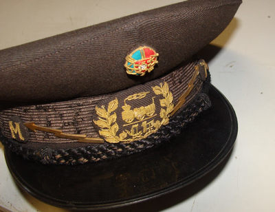 Chapéu de Chefe de Estação