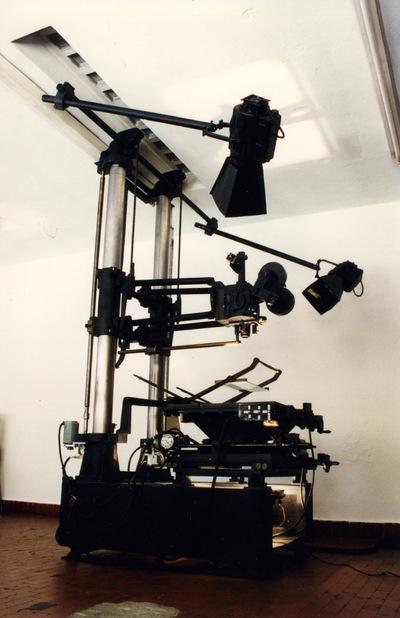 Titolatrice Gamma Film per riprese da 35 mm