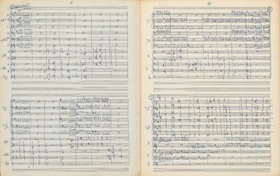 Allegro voor strijk-orkest
