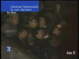Hugo Chavez a été rétabli dans ses fonctions après un coup d'état qui n'aura duré
