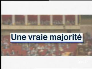 Jacques Chirac : demande aux électeurs une vraie majorité, refuse alliance avec