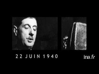 N°9: Quand l'armistice d'un maréchal fait renaître un général : 22 juin 1940.