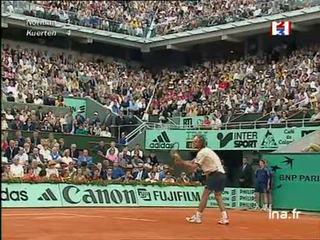 Finale messieurs à Roland Garros : Premier set Gustavo Kuerten contre Norman