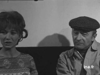 Marlène Jobert et Michel Audiard à propos du film Faut pas prendre les enfants du bon Dieu pour des canards sauvages