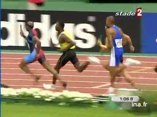 Le relais français emporte la deuxième place du relais 4x400 mètres des championnats du monde d'Athlétisme 2003