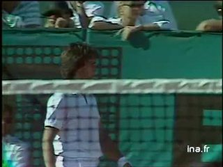 Quart de finale à Roland Garros : Leconte contre Wilander, deuxième tie break