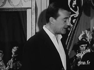 Jean-Pierre Cassel, Françoise Dorléac et Arletty dans La Gamberge de Norbert Carbonaux