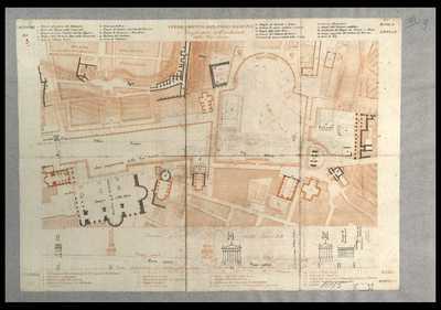 Sterramento del Foro Romano e conghietture sull'andamento della Via Sacra