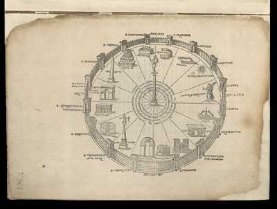 Divus postea Augustus ad sexdecim regiones et portas deduxit: quod et nonnulli principes post eum servaverunt / [M. Fabio Calvo]
