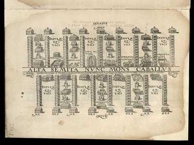 Alta Semita nunc mons Caballus / [M. Fabio Calvo]