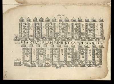 Via Circi Flaminii et Campii Martii / [M. Fabio Calvo]