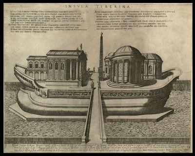 Insula tiberina / Ambrosius Brambilla fecit