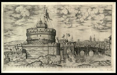 Castello sancto Angelo di Roma